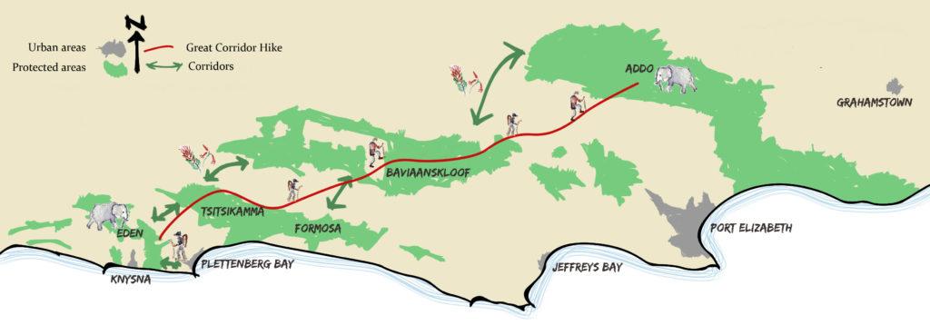 E2A Hike Map